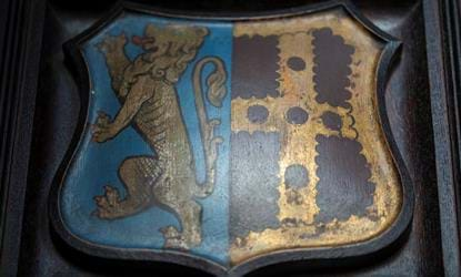 chapel emblem coat of arms crewe hall